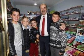 Başkan Türkyılmaz gece gündüz sahada