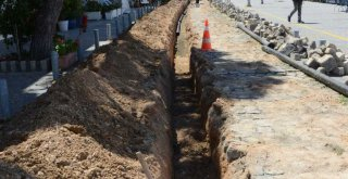 İZSU'dan Foça'nın içme suyu şebekesi için 58 milyon liralık yatırım