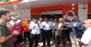 Başkan Hasan Can Market Açılışına Katıldı