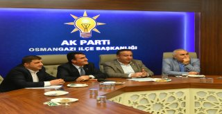 Başkan Dündar'dan AK Parti Osmangazi'ye Teşekkür Ziyareti