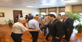 Başkan Dündar Belediye Personeliyle Bayramlaştı