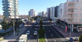 Sinanoğlu Caddesi'ne yeni asfalt