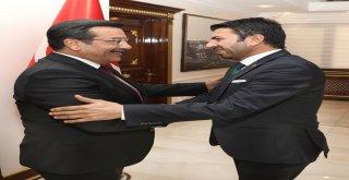 Muhtarlardan Başkan Atilla'ya ziyaret
