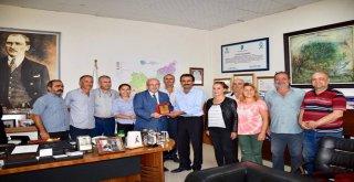Başkan Albayrak'a Cemevi Başkanlarından Teşekkür Plaketi