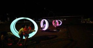 Mersinliler Yeni Sahil Bandında Yaz Akşamlarının Keyfini Çıkarıyor