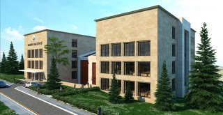 Kandıra'ya yeni belediye binasında hummalı çalışma