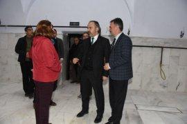 Gemlik'in yeni kültür merkezi gün sayıyor