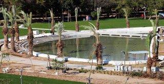 Millet Bahçesi'nin güzelliği meydana çıkıyor