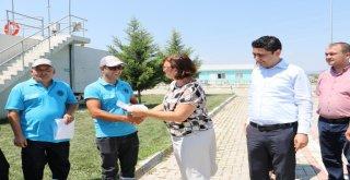 Genel Müdür Yardımcısı Başaran, Personele Sertifikalarını Dağıttı