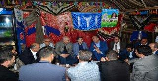 BAŞKANLAR 'ŞEHR-İ HİLAL'DE BULUŞTU