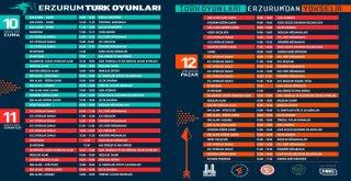 ERZURUM'DA 5 KITAYI ANLATAN FESTİVAL: ERZURUM TÜRK OYUNLARI