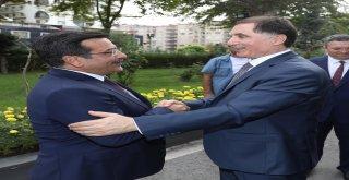 Kamu Başdenetçisi Malkoç Başkan Atilla'yı Ziyaret Etti