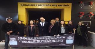 Beşiktaş Belediyesi Karanlıkta Diyalog'ta!