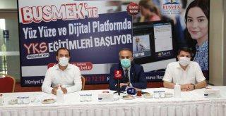 Büyükşehir'den online dershane