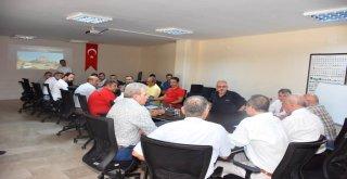 Büyükşehir Belediyesi Ulaşım Sirkülasyon Toplantısı Gerçekleşti