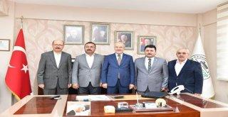 Başkan Kafaoğlu'ndan,Taşıcıyıcılar kooperatifine ziyaret