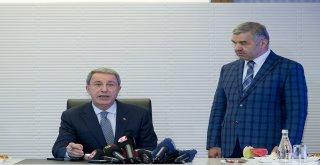 Milli Savunma Bakanı Akar Büyükşehir'de