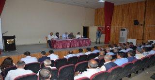 Belediye Başkanımız İrfan Tatlıoğlu, muhtarlarımızla bir araya geldi.