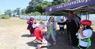 Engelsiz Kampta Çocuklar Doyasıya Eğlendi