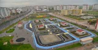 Trafik Eğitim Parkı tamamlanıyor