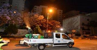 Mersin'de Gece İlaçlamaları Başladı