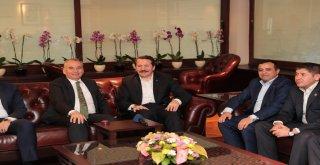 Memur-Sen'den Başkan Osman Zolan'a ziyaret