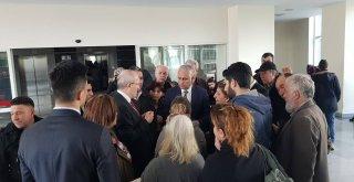 Başkanı  Kafaoğlu'ndan  Balıkesir Adliyesi'ne geçmiş olsun  ziyareti.