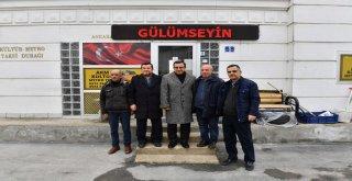 ABB GENEL SEKRETERİ TUZCUOĞLU, ZİYARETLERİNİ SÜRDÜRÜYOR...