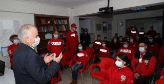 Başkan Zolan, İHH ve AKUT'u ziyaret etti