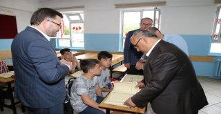 Başkan Hasan Can, Ahmet Yavuz Ortaokulu Öğrencileriyle Bir Araya Geldi