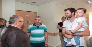 Başkan Hasan Can Hasta Ziyaretlerinde Bulundu