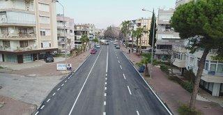 Cebesoy Caddesi'ne konforlu asfalt
