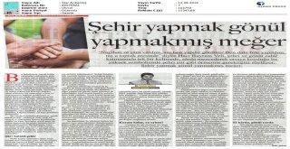 GÖKSU'DAN 'GÖNÜL BELEDİYECİLİĞİ