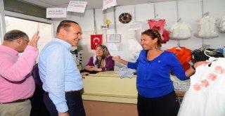Başkan Sözlü Pozantı'da Vatandaşlarla Kucaklaştı