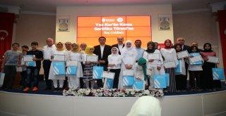 Ümraniye Belediyesi Yaz Kur'an Kurslarının Sertifika Töreni Gerçekleşti