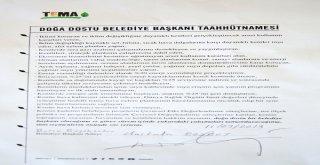 Bozbey Doğa Dostu Belediye Başkanı Taahhütnamesi'ni imzaladı