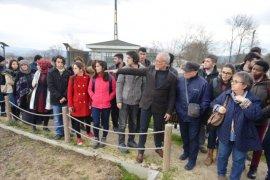 Nilüfer Belediyesi Kent Bostanları'nda organik tarım uygulaması