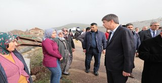 Başkan Türel afet bölgesinde incelemelerde bulundu