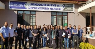 Emniyet personeline deprem eğitimi