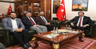 Müftülük'ten Başkan Atilla'ya ziyaret