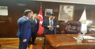 Başkan Taban, Bakan Pakdemirli'yi Tarım Fuarına Davet Etti