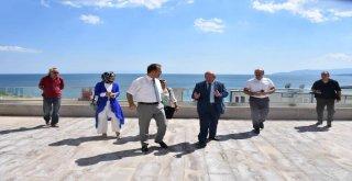 Başkan Albayrak Tekirdağ Kültür Merkezinde İncelemelerde Bulundu