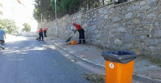 Ümraniye'de Temizlik Çalışmaları 7/24 Aralıksız Devam Ediyor