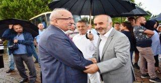 Başkan Albayrak Hacı Adaylarını Uğurladı