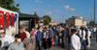 İBB AYASOFYA CAMİİ'NDE BİN 444 PERSONELİYLE GÖREV BAŞINDAYDI