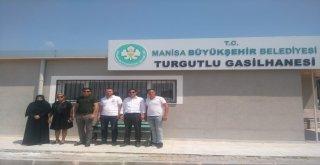 Büyükşehir, Turgutlu ve Ahmetli Gasilhanesini Hizmete Aldı