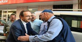 Başkan Şahin, Lâdik ve Asarcık İlçelerini Ziyaret Etti