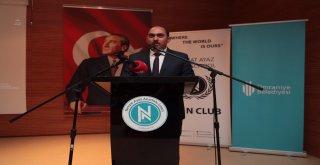 Başkan Hasan Can, Nevzat Ayaz Anadolu Lisesi Model Birleşmiş Milletler Konferansına Katıldı