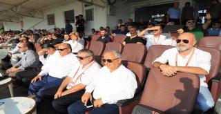 Başkan Hasan Can Ümraniyespor Giresunspor Karşılaşmasını İzledi