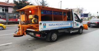 Beşiktaş Karla Mücadeleye Hazır!